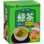 お茶いちばん緑茶ティーバッグ ( 2g*40袋入 )