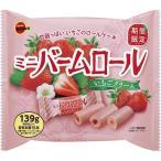 ブルボン ミニバームロール いちごクリーム ( 139g )