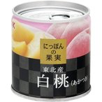 にっぽんの果実 東北産 白桃(あかつき) ( 195g )/ にっぽんの果実