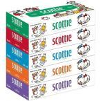 スコッティ ティシュー ディズニー ( 320枚(160組)*5コ入 )/ スコッティ(SCOTTIE) ( 日用品 ティッシュペーパー )