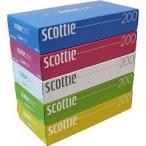 スコッティ ティシュー カラーデザイン ボックス ( 400枚(200組)*5コ入 )/ スコッティ(SCOTTIE)