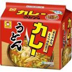 マルちゃん カレーうどん 甘口 ( 5食入 ) ( インスタント うどん )