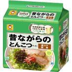 マルちゃん 昔ながらのとんこつラーメン ( 5食入 ) ( インスタントラーメン )