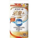 (企画品)エリエール 消臭+ トイレットティシュー ダブル ハッピーバカンスの香り ( 12ロール )/ エリエール