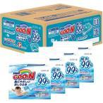ベビー用品 - グーン 肌にやさしいおしりふき つめかえ用 ( 70枚*12パック )/ グーン(GOO.N) ( おしりふき 水99 水99% グーン ベビー用品 )