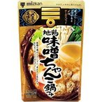 ミツカン 〆まで美味しい 地鶏味噌ちゃんこ鍋つゆ ストレート ( 750g )