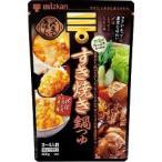 ミツカン 〆まで美味しい すき焼き鍋つゆ ストレート ( 600g )