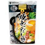 ミツカン 〆まで美味しい焼あごだし鍋つゆ ストレート ( 750g )/ ミツカン
