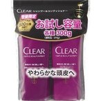 【在庫限り】クリア シャンプー+コンディショナーお試しポンプペア ( 1セット )/ クリア(CLEAR)