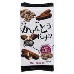 (訳あり)七尾製菓 半生かりんとうドーナツ 黒糖 ( 10本入 )