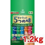 キャラット 5つの味 バランス重視の高齢猫用 海の幸 ( 1.2kg )/ キャラット(Carat) ( キャットフード ドライ 国産無添加 無着色 )