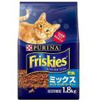 フリスキードライ お魚ミックス まぐろ・かつお・サーモン入り ( 1.8kg )/ フリスキー(Friskies)