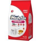メディファス インドアキャット 7歳から 高齢猫用 チキン&フィッシュ味 ( 280g*5袋入 )/ メディファス ( キャットフード ドライ 下部尿路 国産 )