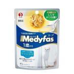 (訳あり)メディファス スープパウチ 1歳から・成猫用 まぐろ・ささみ しらす・かつお節入り ( 40g )/ メディファス