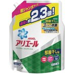 アリエール 洗濯洗剤 液体 リビングドライイオンパワージェル 詰め替え 超ジャンボ ( 1.62kg )/ アリエール イオンパワージェル
