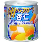 朝からフルーツ 杏仁 ( 190g )/ 朝からフルーツ ( 缶詰 )