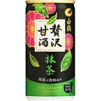 白鶴 贅沢甘酒 抹茶 190X30