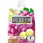 クラッシュタイプの蒟蒻畑ライト ぶどう味 ( 150g )/ 蒟蒻畑 ( こんにゃく ゼリー ダイエット食品 )