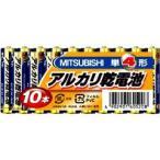 三菱 アルカリ乾電池 単4形 10本パックLR03N/10S ( 1セット ) ( 単四形 )