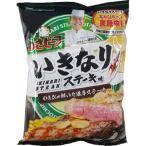 (訳あり)ポテトチップス わさビーフ いきなりステーキ味 ( 90g )