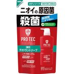 プロテク デオドラントソープ つめかえ用 ( 330mL )/ PRO TEC(プロテク) ( pro tec シャンプー ボディソープ 詰替 男性用 )