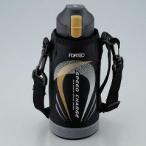 フォルテック スピード ワンタッチ栓ダイレクトボトル 600mL ブラック FSR-7367 ( 1コ入 )/ フォルテック(FORTEC) ( 水筒 直飲み ステンレス 600ml )