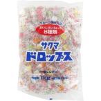 サクマ製菓 袋入りドロップス ( 1kg )
