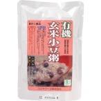 コジマフーズ 有機 玄米小豆粥 ( 200g ) ( レトルト インスタント食品 )
