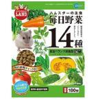 ミニマルランド ハムスターの主食 毎日野菜14種 総合バランス栄養食 小粒 ( 180g )/ ミニマルランド