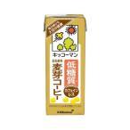 キッコーマン 低糖質 豆乳飲料 麦芽コーヒー ( 200ml*18本入 )