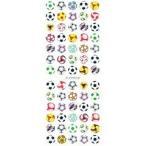 クリアーシール サッカーボール ZC049 ( 1枚入 )
