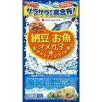 納豆とお魚 オメガ3+サチャインチオイル 約30日分 ( 60球 )/ ミナミヘルシーフーズ
