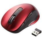 エレコム ワイヤレスレーザーマウス 5ボタン・チルトホイール レッド M-LS15DL ( 1コ入 )/ エレコム(ELECOM)