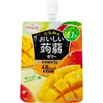 おいしい蒟蒻ゼリー マンゴー味 ( 150g*6コ入 )/ たらみ