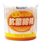 リーダー 綿球が大きい抗菌綿棒 ( 110本入 )/ リーダー