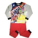 宇宙戦隊キュウレンジャー 光るパジャマ 杢グレー 120cm 42826 ( 1枚入 )