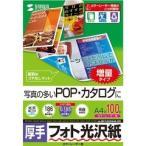 カラーレーザー用フォト光沢紙 厚手 A4 LBP-KAGNA4N-100 ( 100枚入 )