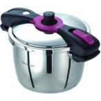 ショッピング圧力鍋 魔法のクイック料理 両手圧力鍋 5.5L AQDA55 ( 1コ入 ) ( ワンダーシェフ 圧力鍋 5.5 魔法のクイック キッチン )