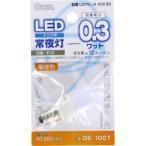 3LED電飾用 E12 電球色 LDT1L-HE12 ( 1コ入 )