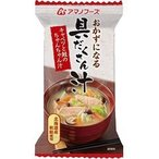 アマノフーズ おかずになる具だくさん汁 キャベツと鮭のちゃんちゃん汁 ( 17.5g*1食入 )/ アマノフーズ