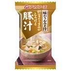 (訳あり)アマノフーズ 味わうおみそ汁 豚汁 ( 15.0g*1食入 )/ アマノフーズ