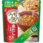 アマノフーズ 減塩うちのおみそ汁 赤だしなめこ ( 5食入 )/ アマノフーズ