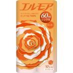 (お得)エルモア トイレットロール 花の香り ピンクシングル 60m ( 12ロール )/ エルモア ( 日用品 トイレットペーパー )