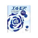 (お得)エルモア トイレットロール 花の香り ホワイトシングル 60m ( 18ロール )/ エルモア ( 日用品 トイレットペーパー )