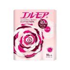 (お得)エルモア トイレットロール 花の香り ピンクダブル 2枚重ね30m ( 18ロール ) /  エルモア ( 日用品 トイレットペーパー )