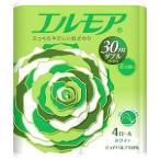 エルモア トイレットロール 花の香り ダブル 2枚重ね30m ( 4ロール )/ エルモア ( 日用品 トイレットペーパー )