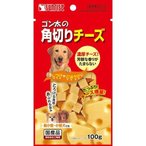 サンライズ ゴン太の角切りチーズ ( 100g )/ ゴン太 ( 犬 おやつ チーズ 国産 )