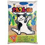 猫砂 スーパーキャット ナチュラル100 ( 8L )/ スーパーキャット ( スーパーキャット ナチュラル 流せる ねこ砂 ネコ砂 )