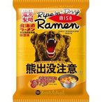 北海道熊出没注意ラーメン 味噌味 ( 114g )