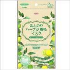 三次元 ほんのりハーブが香るマスク ベルガモットの香り ( 3枚入 )/ 三次元マスク ( マスク 風邪 ウィルス 予防 花粉対策 日本製 )